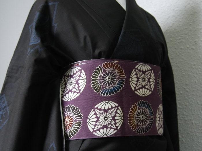 桜に蝶/菊の紋章