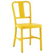 黄色のチェア