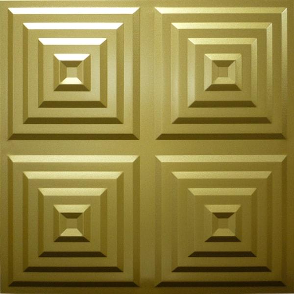【NDSB5004GL】3Dジン スチール製 金色 1枚 500×500mm