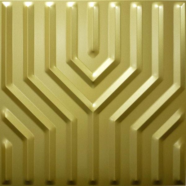【NDSB5005GL】3Dジン スチール製 金色 1枚 500×500mm