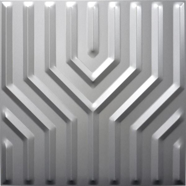 【NDSB5005SL】3Dジン スチール製 銀色 1枚 500×500mm