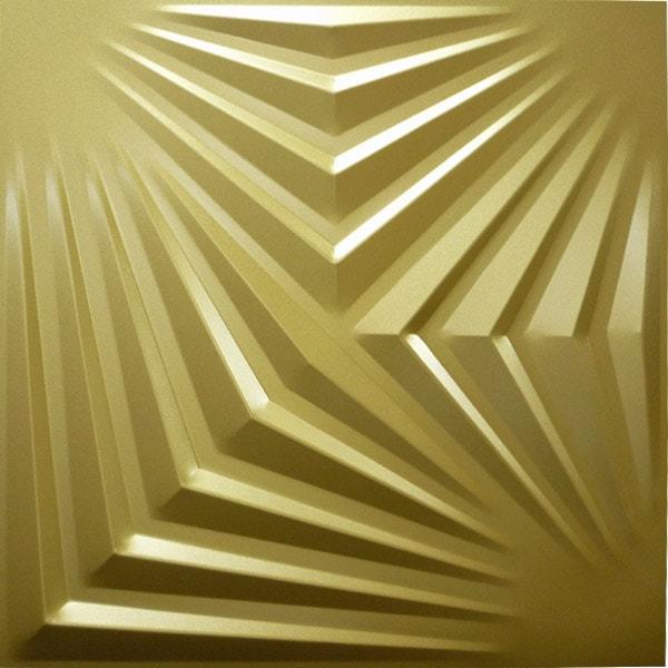【NDSB5007GL】3Dジン スチール製 金色 1枚 500×500mm
