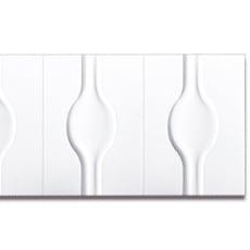 【NPVP002】PVC製壁面装飾ボード 1200×400×18mm