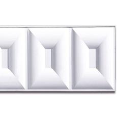 【NPVP003】PVC製壁面装飾ボード 1200×300×18mm