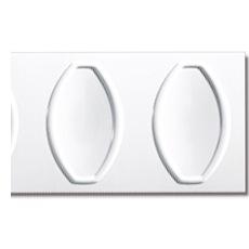 【NPVP004】PVC製壁面装飾ボード 1200×300×18mm