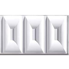 【NPVP005】PVC製壁面装飾ボード 1200×300×18mm