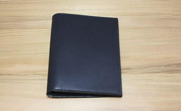 栃木レザーノートカバーA6サイズ
