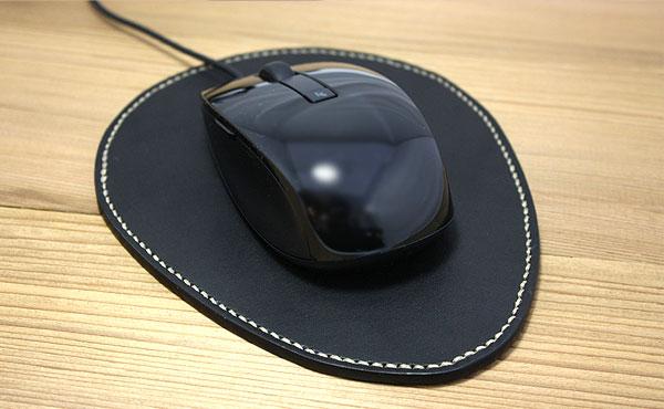 栃木レザーマウスパッド