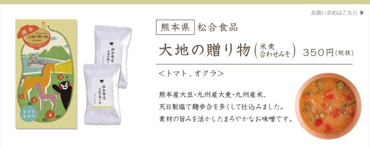 [熊本県] 松合食品 大地の贈り物