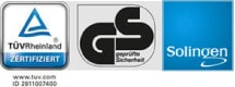 TUVラインランド、GS ドイツ安全基準