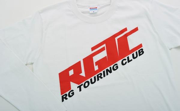 RGTC ロングスリーブTシャツロゴプリントアップ
