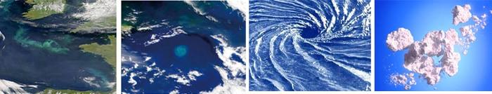 フランス沖のヴォルテックス現象