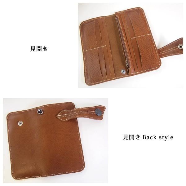 【日本製】オイルレザー長財布
