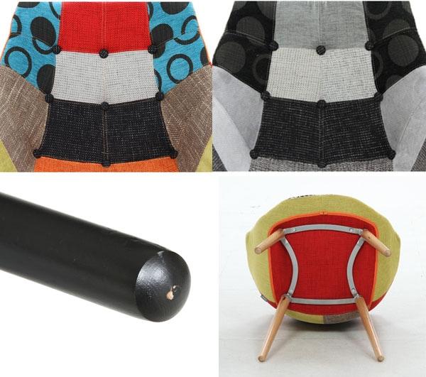 POPデザイン・マルチカラー デザイナーチェア