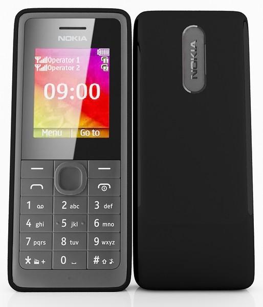 格安 SIMフリー携帯 Nokia 107 Dual SIM 販売