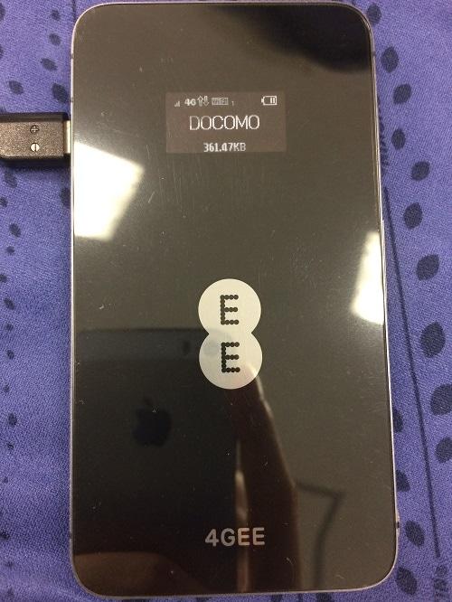 SIMフリーHuawei E5878 4G LTE 販売