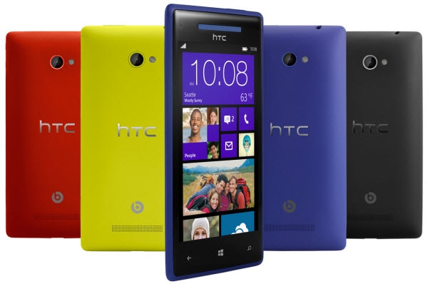 HTC Windows Phone 8X SIMフリー