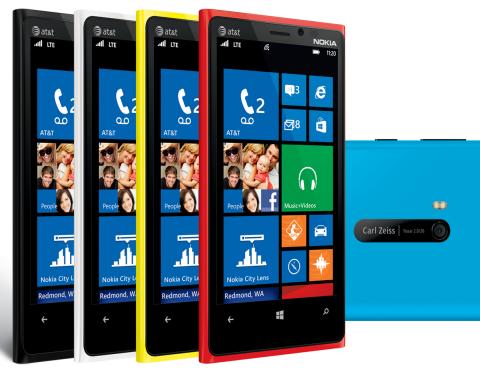 Nokia Lumia 920 at&t販売のジャパエモ