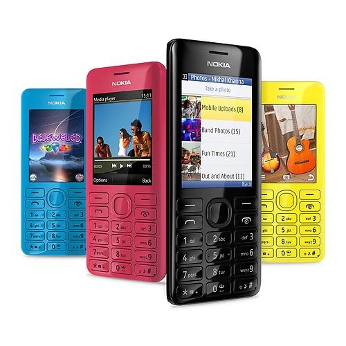 Nokia 206 Dual Sim 海外Simフリー携帯