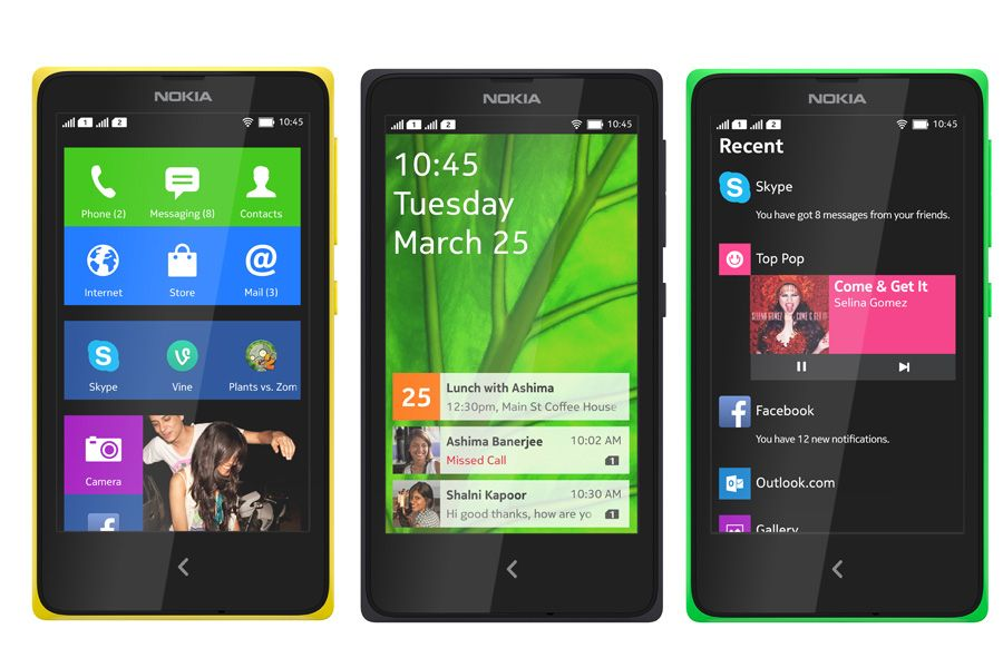 SIMフリースマホ Nokia X 販売