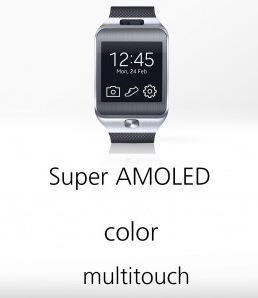 Super AMOLEDディスプレイ SamsungGearLive