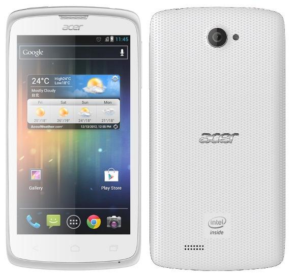 SIMフリースマホ Acer Liquid C1 販売