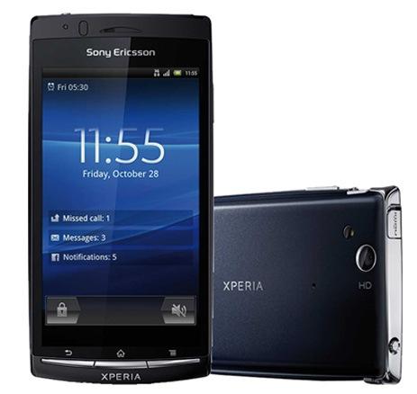 SIMフリースマホ Sony Ericsson Xperia ARC S(LT18i) 販売