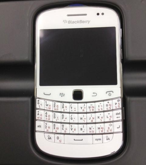 blackberry9900 ホワイト