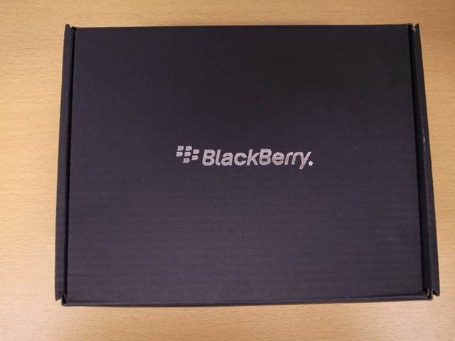 BlackBerry 外箱