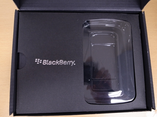 BlackBerry 内側
