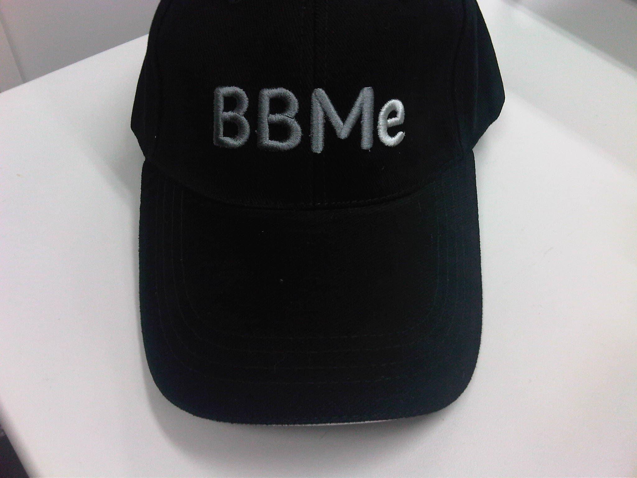 BBMeロゴ入り帽子