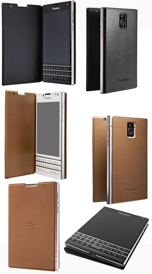 Blackberry Passport ケース、Passport Leather Flip Case 販売