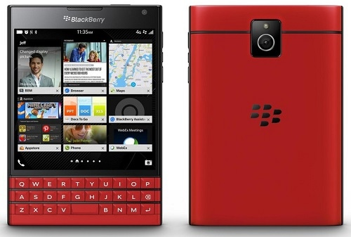 BlackBerry Passport red 販売