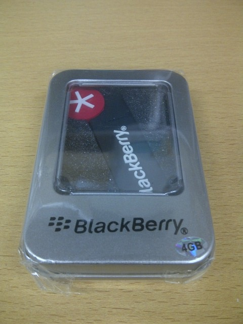 BlackBerry Action Logo入り USB 4GB
