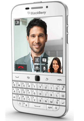SIMフリースマホ Blackberry Classic ホワイト 販売