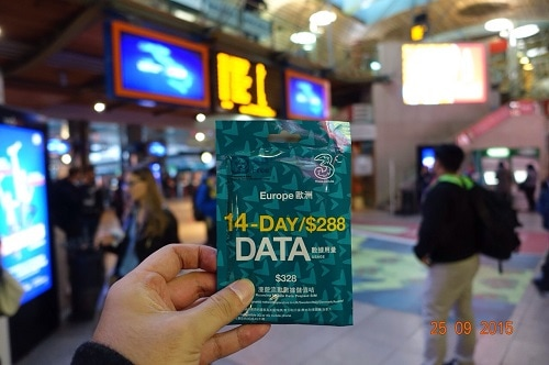 ヨーロッパ周遊 プリペイド SIMカード 販売
