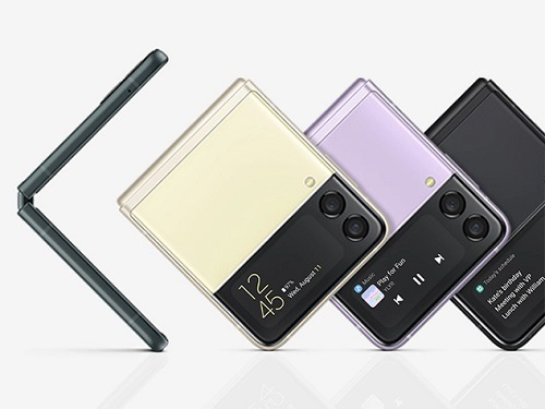 Samsung Galaxy Z Flip3 5G 香港版 SM-F7110 日本販売