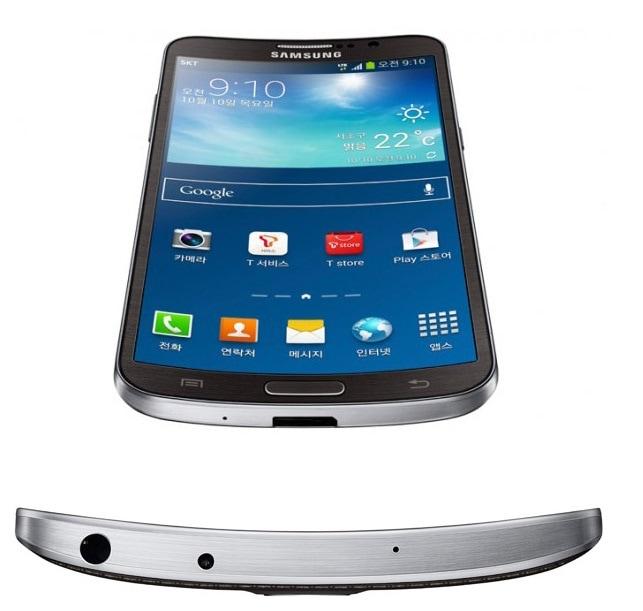 SIMフリースマホ  Samsung GALAXY ROUND 販売