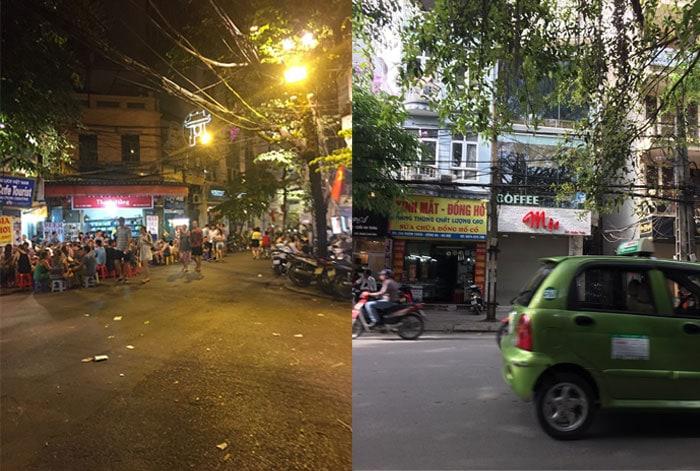 ベトナム ハノイの街並み