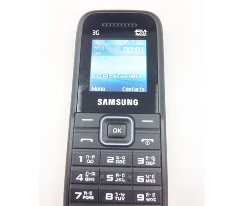 SIMフリーガラケー SAMSUNG KEYSTONE 3 SM-B109H販売