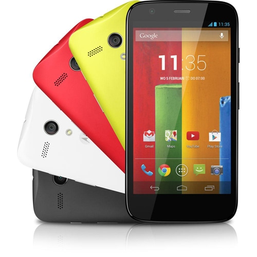 SIMフリースマホ Motorola Moto G Dual SIM XT1033 販売