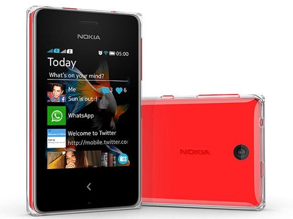 SIMフリースマホ Nokia Asha 500 販売