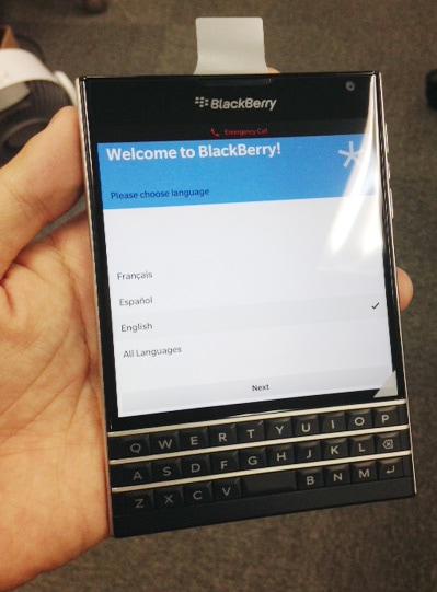 BlackBerry Passport 販売、購入