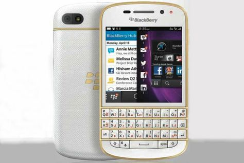 Simフリー スマホ Blackberry Q10 Gold Edition購入