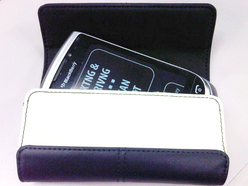Blackberry Leather Folio Sandstone ケース 9810
