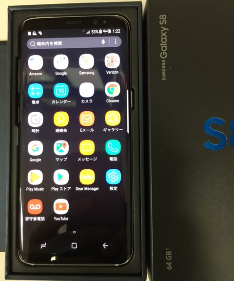 Samsung Galaxy S8 SM-G950U Verizon版 販売