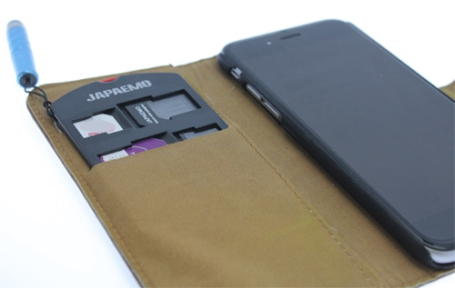 SIMカードホルダー SMART SIM HOLDER Japaemo製 購入