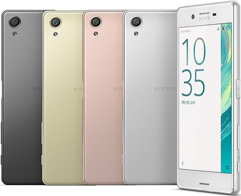SIMフリースマホ Sony Xperia X Performance 販売