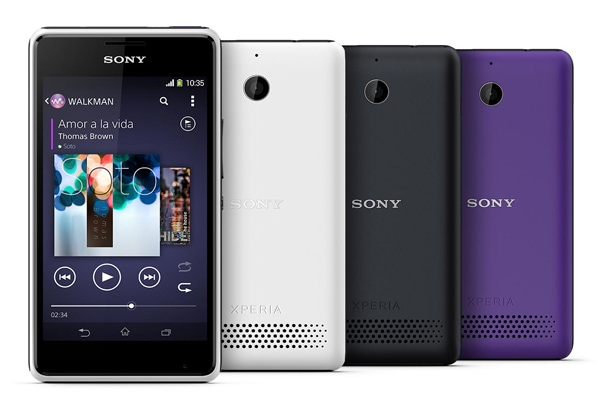 SIMフリースマホ Sony Xperia E1 dual D2105デザイン2