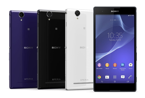 SIMフリースマホ Sony Xperia T2 Ultra dual デザイン2